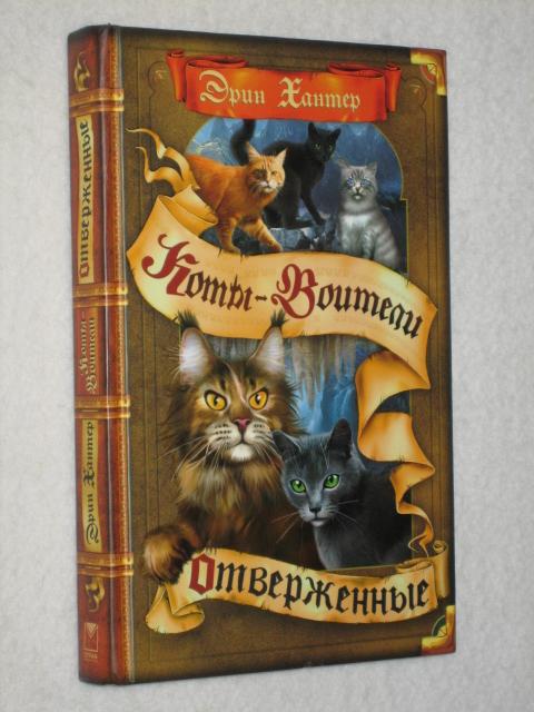 Коты воители книга отверженные